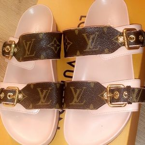 e1831a721e41 Louis Vuitton Shoes - BOM DIA MULE authentic Louis Vuitton sandals!